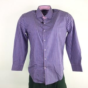 Tailorbyrd Mens Plaid Dress Shirt Shirt DR10692